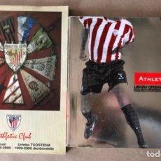 Coleccionismo deportivo: LOTE DE 2 MEMORIAS OFICIALES DEL ATHLETIC CLUB TEMPORADAS 99/00 Y 03/04.. Lote 121790199