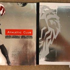 Coleccionismo deportivo: ATHLETIC CLUB. LOTE 2 LIBRO MEMORIA OFICIAL TEMPORADAS 2003-2004 Y 2005-2006.. Lote 175061695