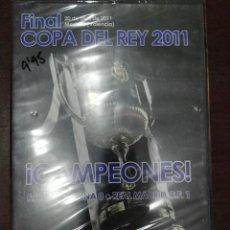 Coleccionismo deportivo: DVD NUEVO PRECINTADO FINAL COPA DEL REY 2010 - 2011 REAL MADRID 1 BARCELONA 0. Lote 186149275