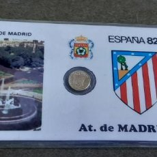 Coleccionismo deportivo: CARNET CIUDAD SEDE ESPAÑA 82 - SEDE MADRID - VICENTE CALDERON - AT. DE MADRID. Lote 188411595