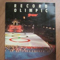 Coleccionismo deportivo: TROZO ORIGINAL DE LA BANDERA OLIMPICA DE LOS JUEGOS OLIMPICOS DE BARCELONA 92.. Lote 191105868