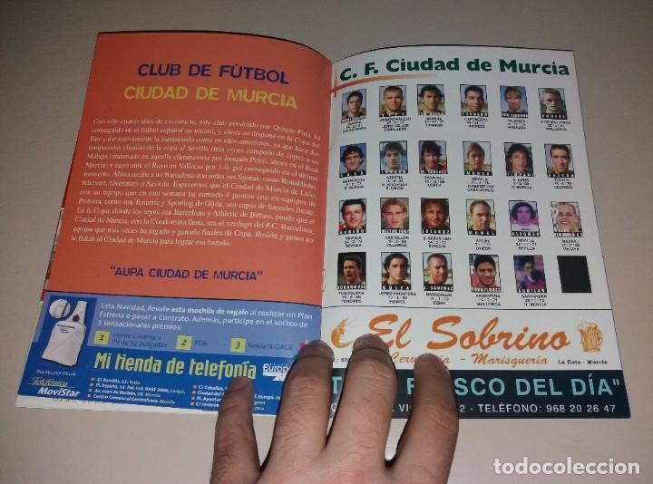 Coleccionismo deportivo: Programa Ciudad de Murcia vs Fútbol Club Barcelona. Copa Rey 2003 03 2004 04 - Foto 4 - 191417765
