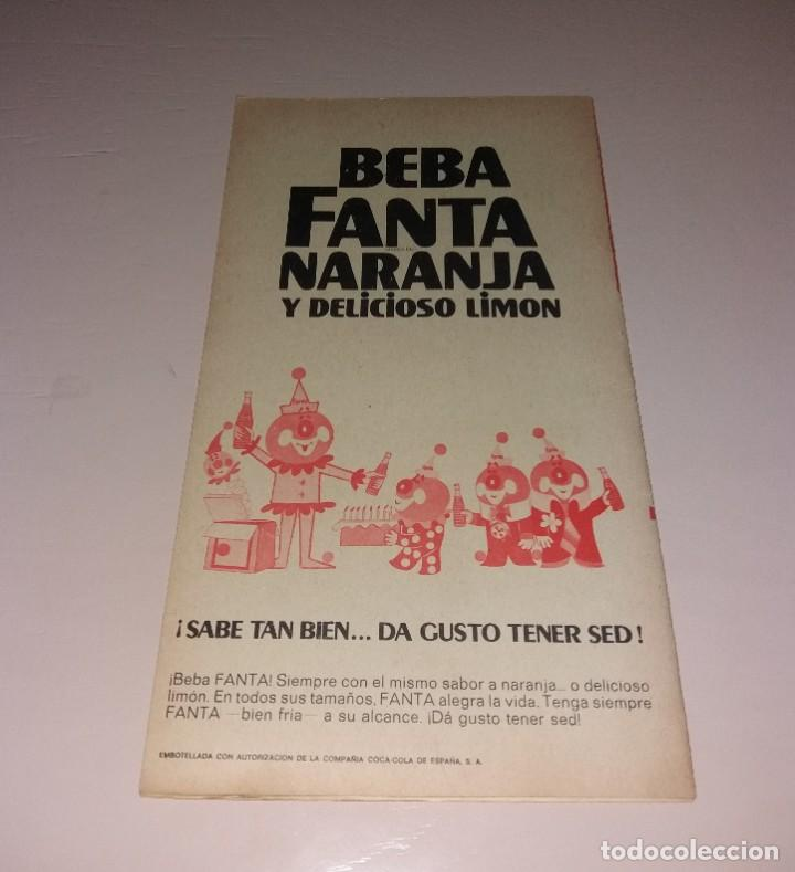 Coleccionismo deportivo: Programa Hipódromo de Madrid. Trofeo Coca Cola, 1970, con publicidad Fanta Naranja - Foto 3 - 191417892