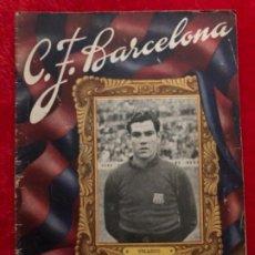 Coleccionismo deportivo: CF BARCELONA BARÇA BOLETIN PARTIDO AT DE BILBAO 14/11/1948. Lote 191482835