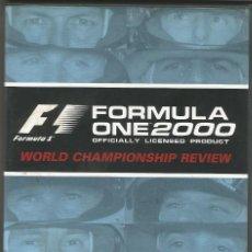 Coleccionismo deportivo: F1 RESUMEN CAMPEONATO FORMULA ONE 2000 - DVD. Lote 191963938