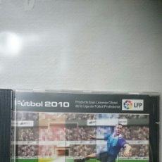 Coleccionismo deportivo: CD PARA WINDOWS. FUTBOL 2010, LFP. Lote 193968182