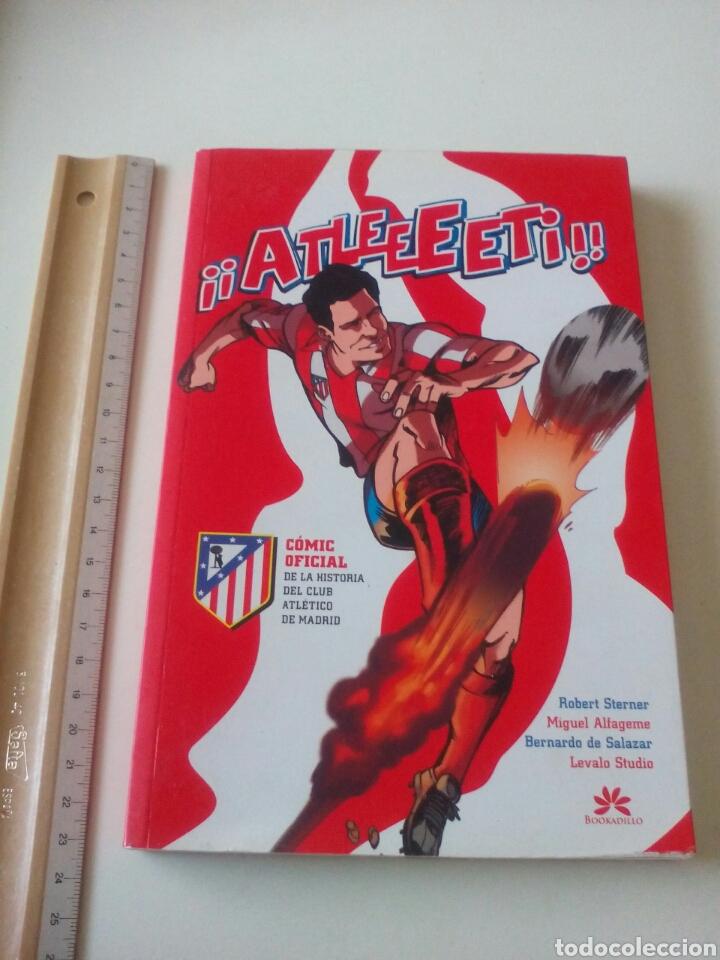 CÓMIC OFICIAL DE LA HISTORIA DEL CLUB ATLÉTICO DE MADRID. (Coleccionismo Deportivo - Documentos de Deportes - Otros)