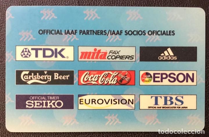 Coleccionismo deportivo: Carnet del 7º IAAF Campeonato del mundo de Atletismo Sevilla 99 - Abono de 5000 ptas - Año 1999 - Foto 2 - 194227488