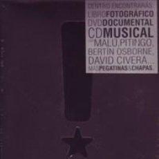 Coleccionismo deportivo: REAL MADRID -REALVOLUTION-LIBRO FOTOS-DVD-CD MUSICA-CHAPAS-ADHESIVO A DESPRECINTAR. Lote 194735386