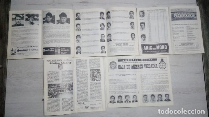 Coleccionismo deportivo: Lote 5 programas del Athletic Club de Bilbao temporada 73 - 74. - Foto 3 - 194739561