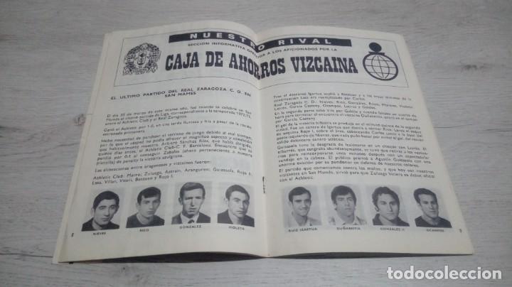 Coleccionismo deportivo: Lote 5 programas del Athletic Club de Bilbao temporada 73 - 74. - Foto 6 - 194739561