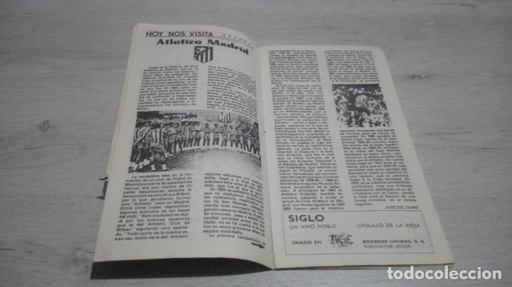 Coleccionismo deportivo: Lote 5 programas del Athletic Club de Bilbao temporada 73 - 74. - Foto 9 - 194739561