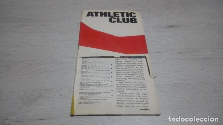 Coleccionismo deportivo: Lote 5 programas del Athletic Club de Bilbao temporada 73 - 74. - Foto 10 - 194739561