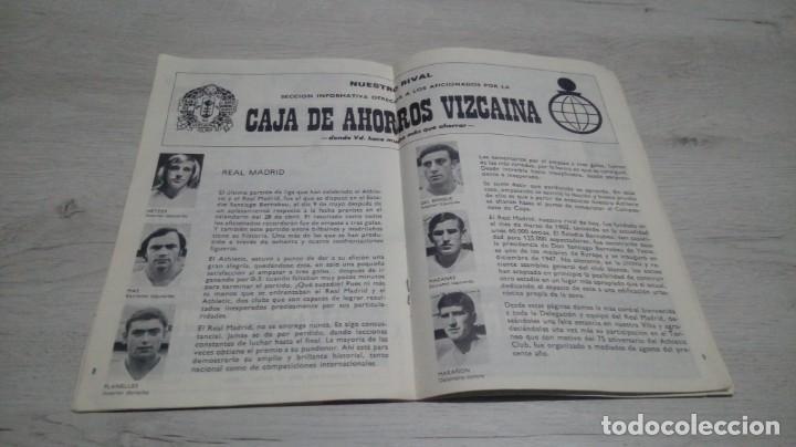 Coleccionismo deportivo: Lote 5 programas del Athletic Club de Bilbao temporada 73 - 74. - Foto 15 - 194739561