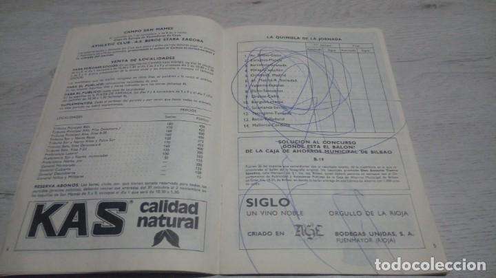 Coleccionismo deportivo: Programa oficial Athletic Club de Bilbao - R. Sporting C. De Gijon temporada 73 - 74. - Foto 2 - 194741072