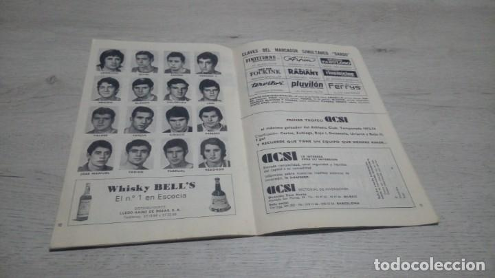 Coleccionismo deportivo: Programa oficial Athletic Club de Bilbao - R. Sporting C. De Gijon temporada 73 - 74. - Foto 8 - 194741072