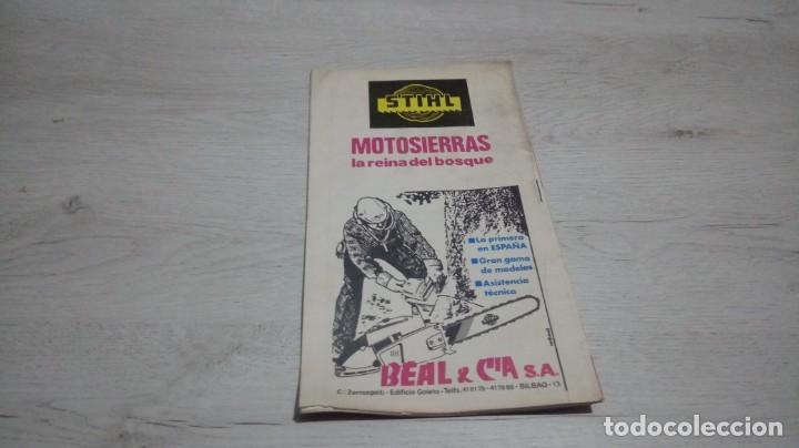 Coleccionismo deportivo: Programa oficial Athletic Club de Bilbao - Real Murcia temporada 74 - 75.. - Foto 2 - 194742106