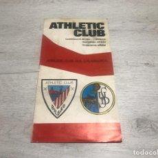 Coleccionismo deportivo: PROGRAMA OFICIAL ATHLETIC CLUB DE BILBAO - U.D. SALAMANCA 74 - 75.. Lote 194749738