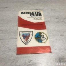 Coleccionismo deportivo: PROGRAMA OFICIAL ATHLETIC CLUB DE BILBAO - U.D. SALAMANCA 74 - 75.. Lote 194749838