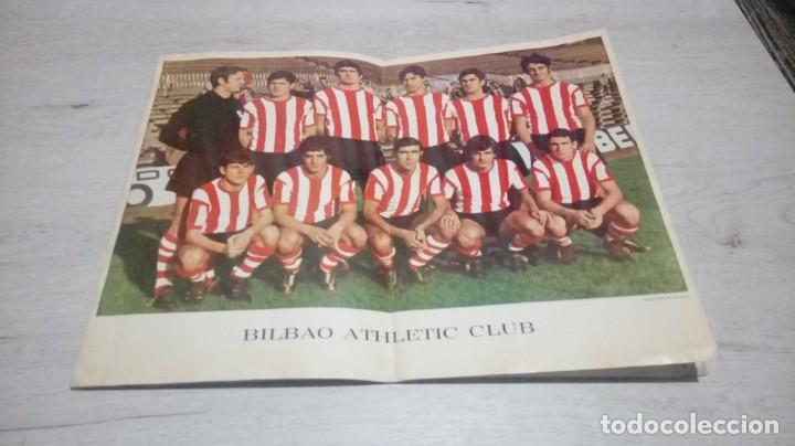 Coleccionismo deportivo: Programa oficial Athletic Club de Bilbao - Barcelona C. F. temporada 70 - 71. - Foto 4 - 194904718