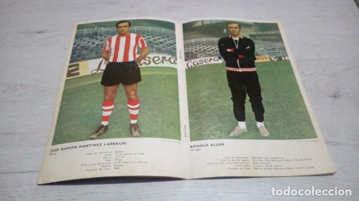 Coleccionismo deportivo: Programa oficial Athletic Club de Bilbao - Real Madrid temporada 70 - 71. - Foto 3 - 194904846
