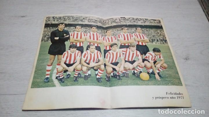 Coleccionismo deportivo: Programa oficial Athletic Club de Bilbao - Real Gijon temporada 70 - 71. - Foto 3 - 194904957
