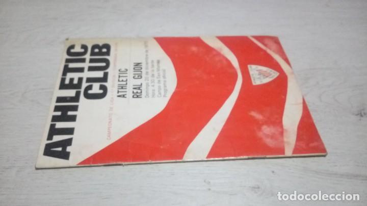 Coleccionismo deportivo: Programa oficial Athletic Club de Bilbao - Real Gijon temporada 70 - 71. - Foto 4 - 194904957