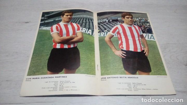 Coleccionismo deportivo: Programa oficial Athletic Club de Bilbao - Sevilla C. F. temporada 70 - 71. - Foto 3 - 194905251