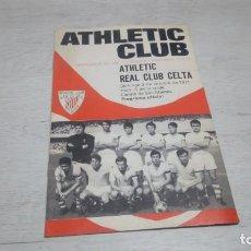 Coleccionismo deportivo: PROGRAMA OFICIAL ATHLETIC CLUB DE BILBAO - REAL CLUB CELTA. TEMPORADA 71 - 72.. Lote 194905635