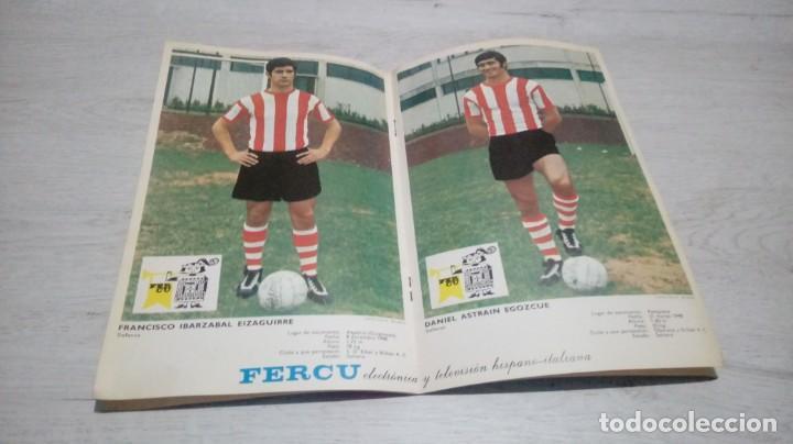 Coleccionismo deportivo: Programa oficial Athletic Club de Bilbao - Real Club Celta. temporada 71 - 72. - Foto 3 - 194905635
