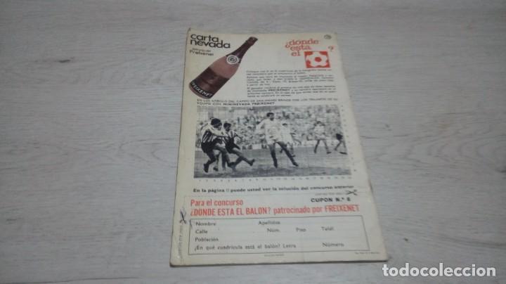 Coleccionismo deportivo: Programa oficial Athletic Club de Bilbao - Sevilla C. F . temporada 71 - 72. - Foto 3 - 194905696