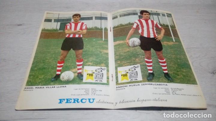Coleccionismo deportivo: Programa oficial Athletic Club de Bilbao - Sevilla C. F . temporada 71 - 72. - Foto 4 - 194905696