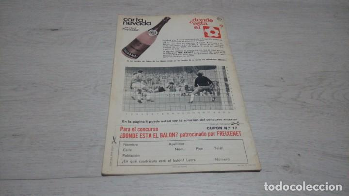 Coleccionismo deportivo: Programa oficial Athletic Club de Bilbao - R. C. Español. temporada 71 - 72. - Foto 2 - 194905933