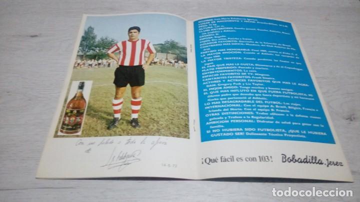 Coleccionismo deportivo: Programa oficial Athletic Club de Bilbao - R. C. Español. temporada 71 - 72. - Foto 3 - 194905933