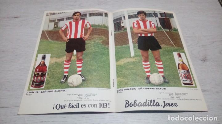 Coleccionismo deportivo: Programa oficial Athletic Club de Bilbao - Real Betis. temporada 71 - 72. - Foto 3 - 194906007
