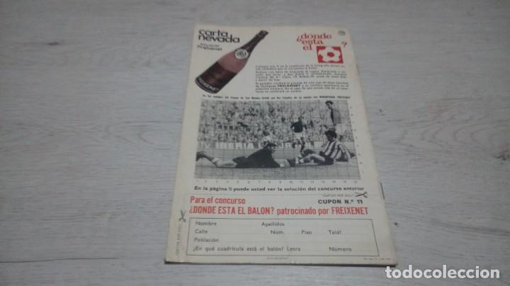 Coleccionismo deportivo: Programa oficial Athletic Club de Bilbao - Sabadell. Temporada 71 - 72. - Foto 2 - 194906071