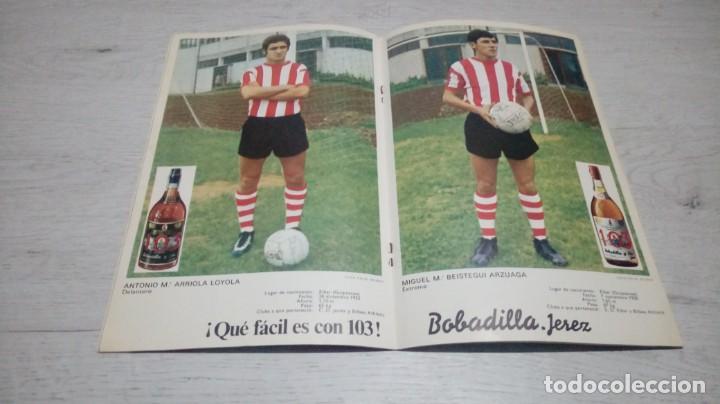 Coleccionismo deportivo: Programa oficial Athletic Club de Bilbao - Sabadell. Temporada 71 - 72. - Foto 3 - 194906071