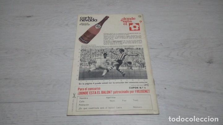 Coleccionismo deportivo: Programa oficial Athletic Club de Bilbao - Valencia C. DE F. Temporada 71 - 72. - Foto 2 - 194906105