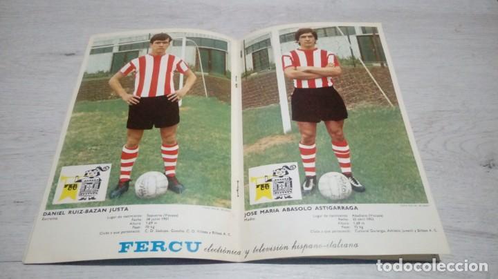 Coleccionismo deportivo: Programa oficial Athletic Club de Bilbao - Valencia C. DE F. Temporada 71 - 72. - Foto 3 - 194906105