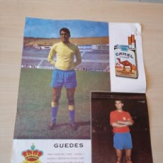 Coleccionismo deportivo: ANTIGUO PÓSTER DE GUEDES - UD LAS PALMAS. Lote 194930485