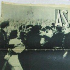Coleccionismo deportivo: REVISTA AS 30 MARZO 1936 REAL ZARAGOZA CELTA. SIERRA HUMA. Lote 195054390