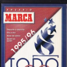 Coleccionismo deportivo: MARCA - ANUARIO -1995/96. Lote 195169400