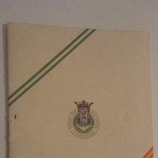 Coleccionismo deportivo: FEDERACION SOCIEDADES TIRO DE PICHON ESPAÑA.PROGRAMA TIRADAS OFICIALES.CORDOBA 1960. Lote 195191771