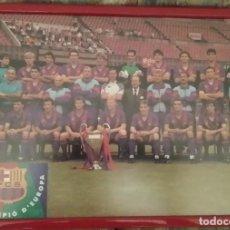 Coleccionismo deportivo: FC BARCELONA - PLANTILLA COPA DE EUROPA 1992. Lote 195252326