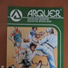 Coleccionismo deportivo: CATALOGO 1986 PROTECCION DEPORTIVA ARQUER. Lote 195274408