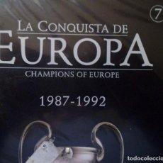 Coleccionismo deportivo: DVD COLECCIONABLE LA CONQUISTA DE EUROPA DIARIO MARCA CHAMPIONS OF EUROPE . Lote 195305822
