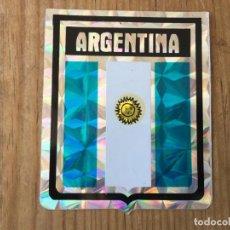 Coleccionismo deportivo: R8175 ANTIGUA PEGATINA ESCUDO BRILLANTE ARGENTINA. Lote 195316193