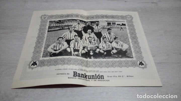 Coleccionismo deportivo: Programa oficial Athletic Club de Bilbao - Real Madrid temporada 72- 73. - Foto 3 - 195342182