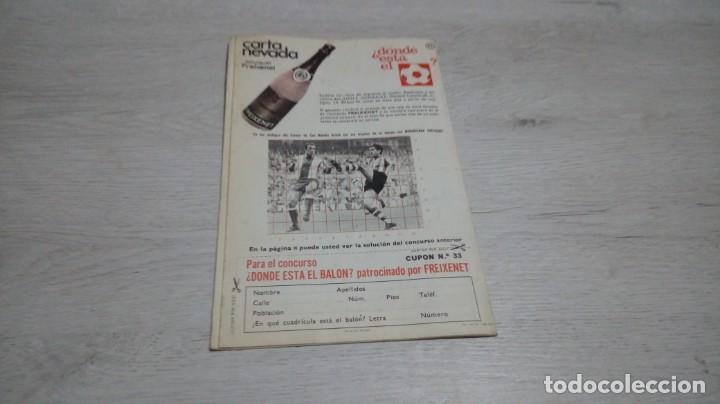 Coleccionismo deportivo: Programa oficial Athletic Club de Bilbao - R. C. D. Español temporada 72- 73. - Foto 2 - 195342377