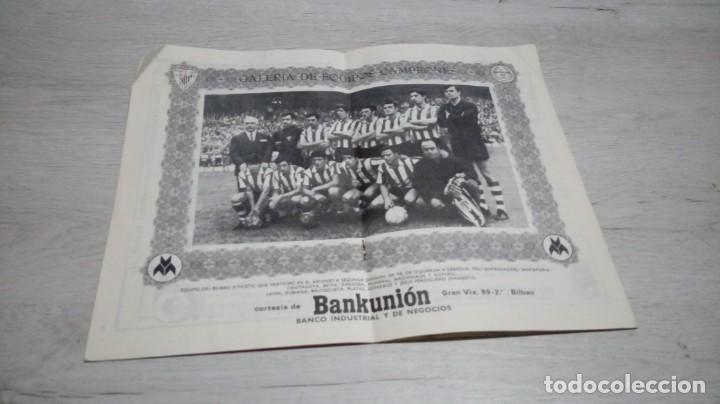 Coleccionismo deportivo: Programa oficial Athletic Club de Bilbao - R. C. D. Español temporada 72- 73. - Foto 3 - 195342377